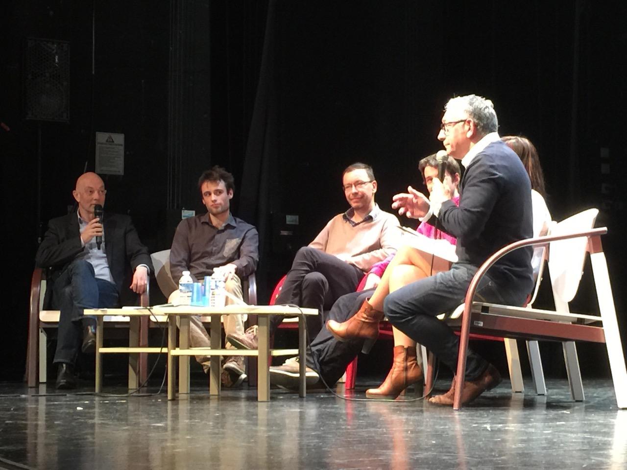 Vincent Simonneaux Anime La Table Ronde Des Trophées Des Entreprises Du Pays De Vitré