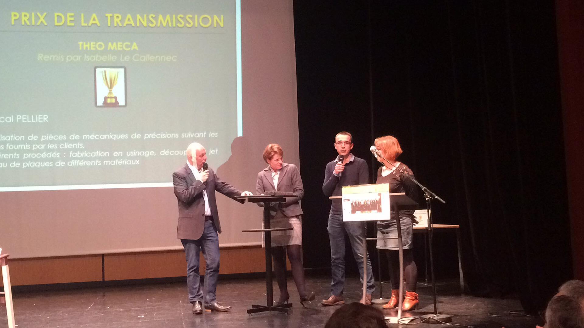 THEO MECA à La 4e édition Des Trophées Des Entreprises Du Pays De Vitré