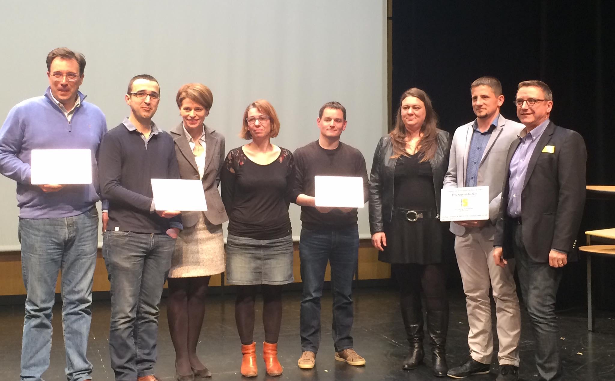 Les Gagnants Des Trophées Des Entreprises à Vitré 2016
