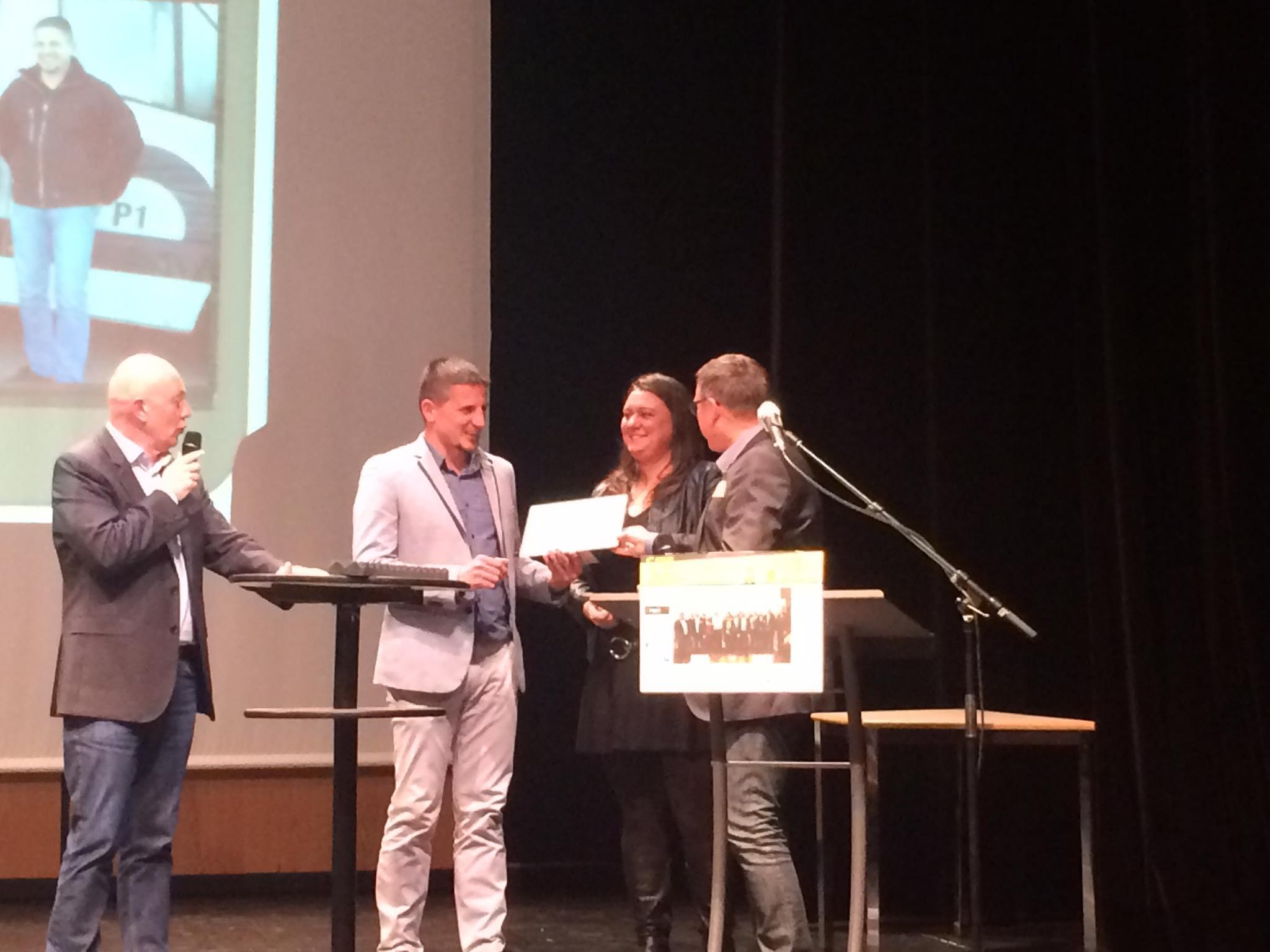 Menuiserie Brilland à la 4e édition des Trophées des entreprises du pays de Vitré