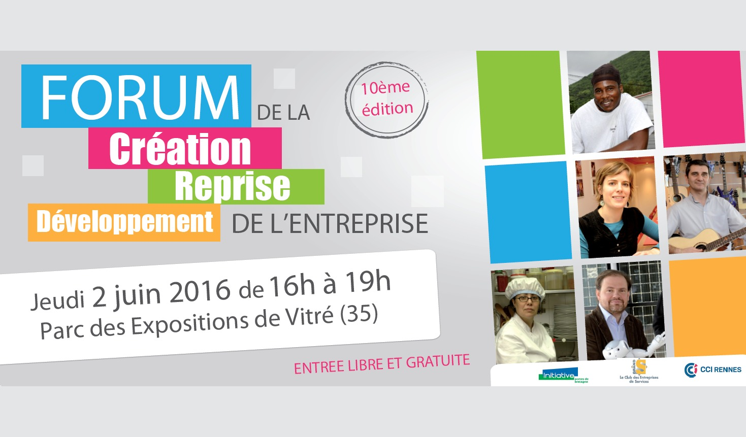 Forum de la Creation d'entreprise à Vitré