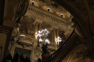 Hall d'entrée de l'Opéra Garnier