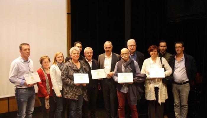 Les Cinq Entreprises Primées Lors Des Trophées Des Entreprises Du Pays De Vitré 5ème Edition