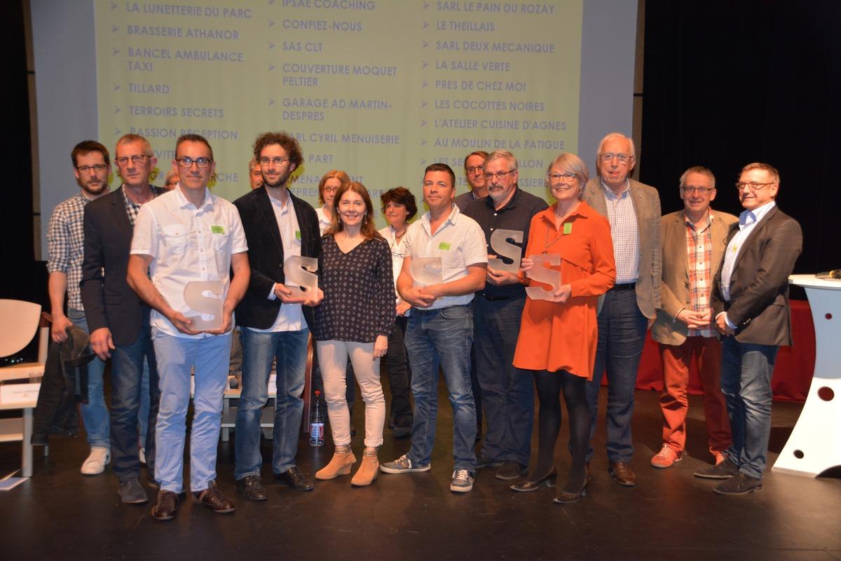 Les Gagnants 2018 Des Trophées Des Entreprises Du Pays De Vitré